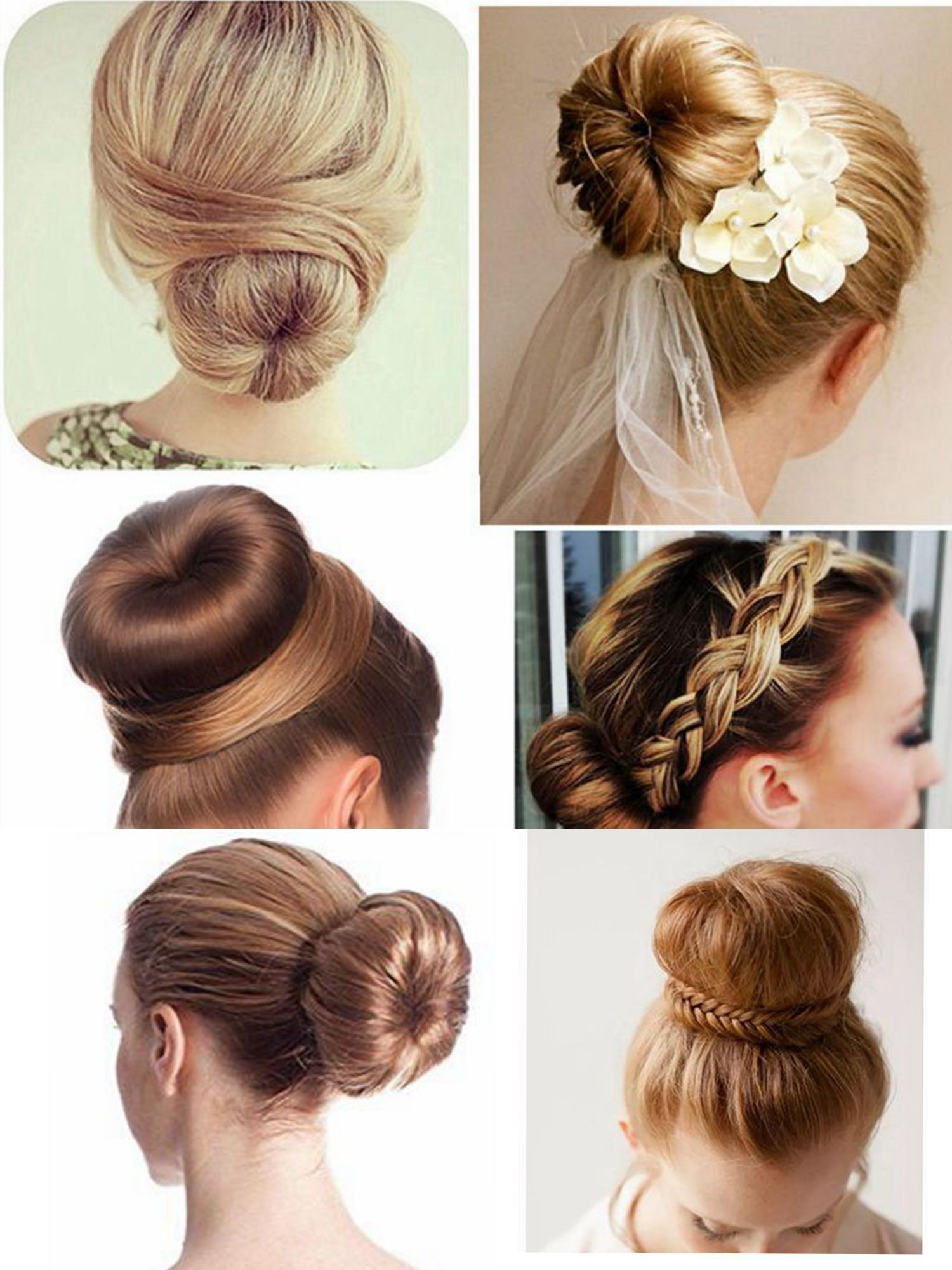 Clothobeauty Magic Diy Hair Bun Making Women Girls Kids Hair Bun Making Styling French Twist Donut Bun Hairst Diy Hair Bun Kids Hairstyles Donut Bun Hairstyles