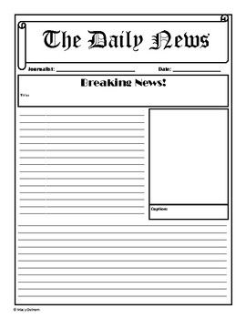 """Blank Breaking News : blank, breaking, Template, Includes, """"Breaking, News"""", Page,, """"Opinion"""", Newspaper, Template,, Article, Review"""