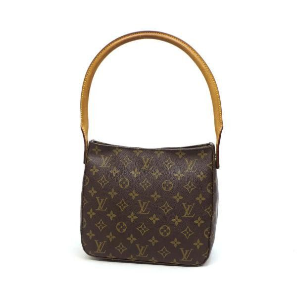 Louis Vuitton Looping MM Monogram Shoulder bags Brown Canvas M51146