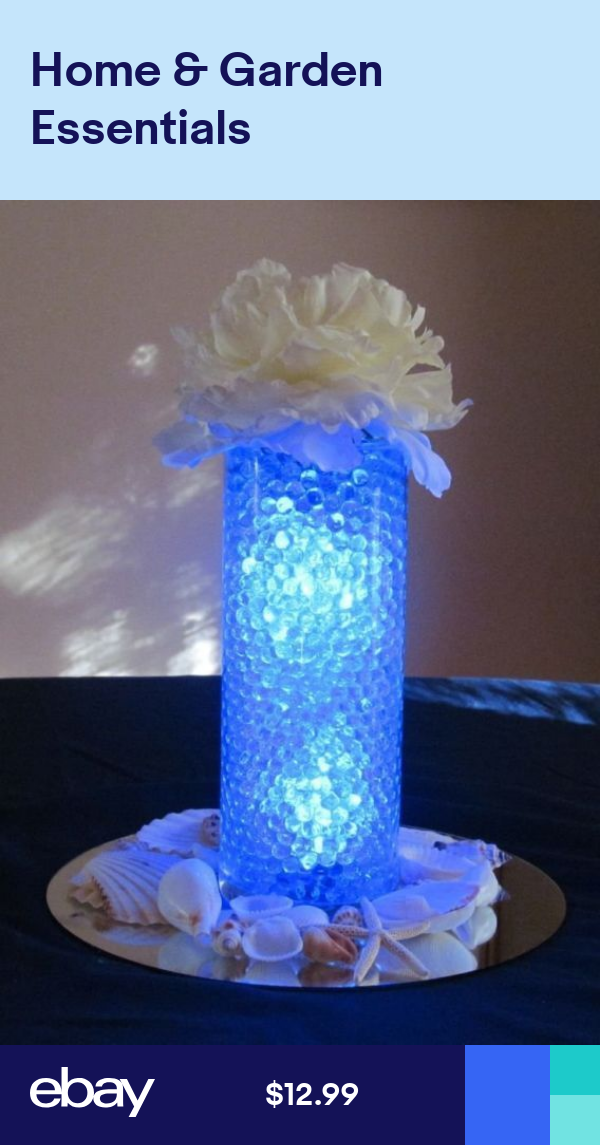 16 000 Floral Water Pearls Clear Vases Centerpieces Wedding Beads
