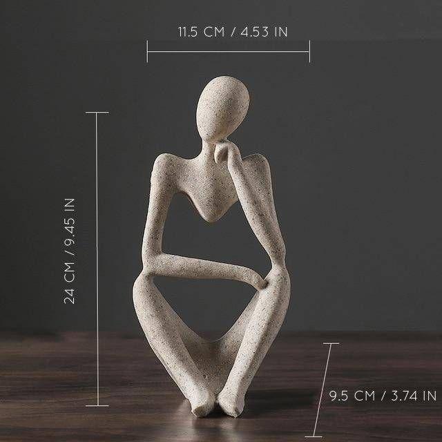 Photo of Pensatore Sculpture – B