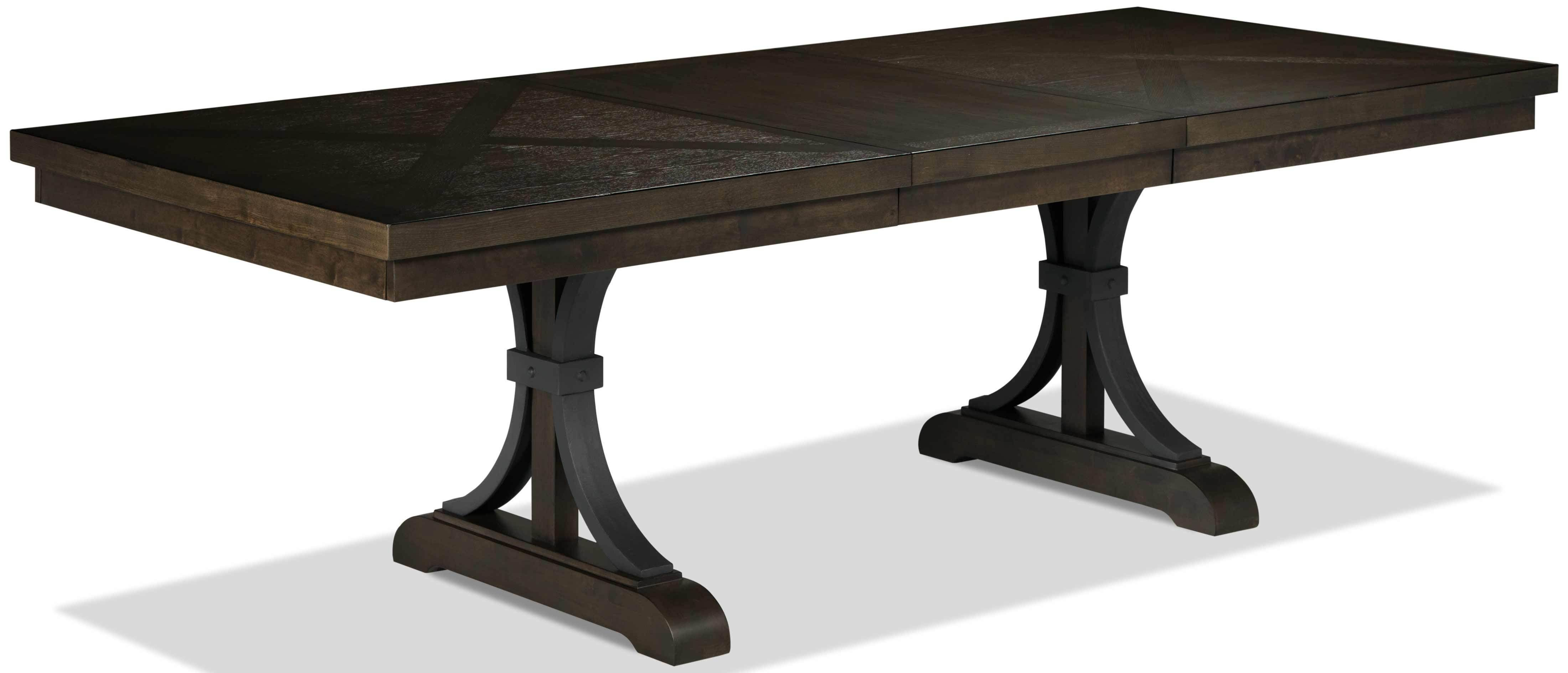 Flanigan Dining Table Distressed Espresso Dining Table Dining