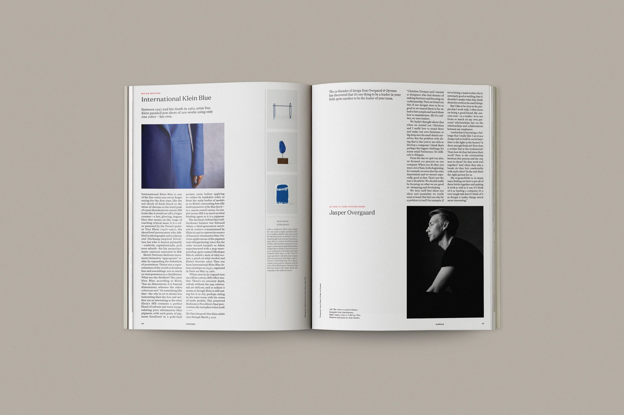 In praise of slow – on the Kinfolk redesign - Creative Review