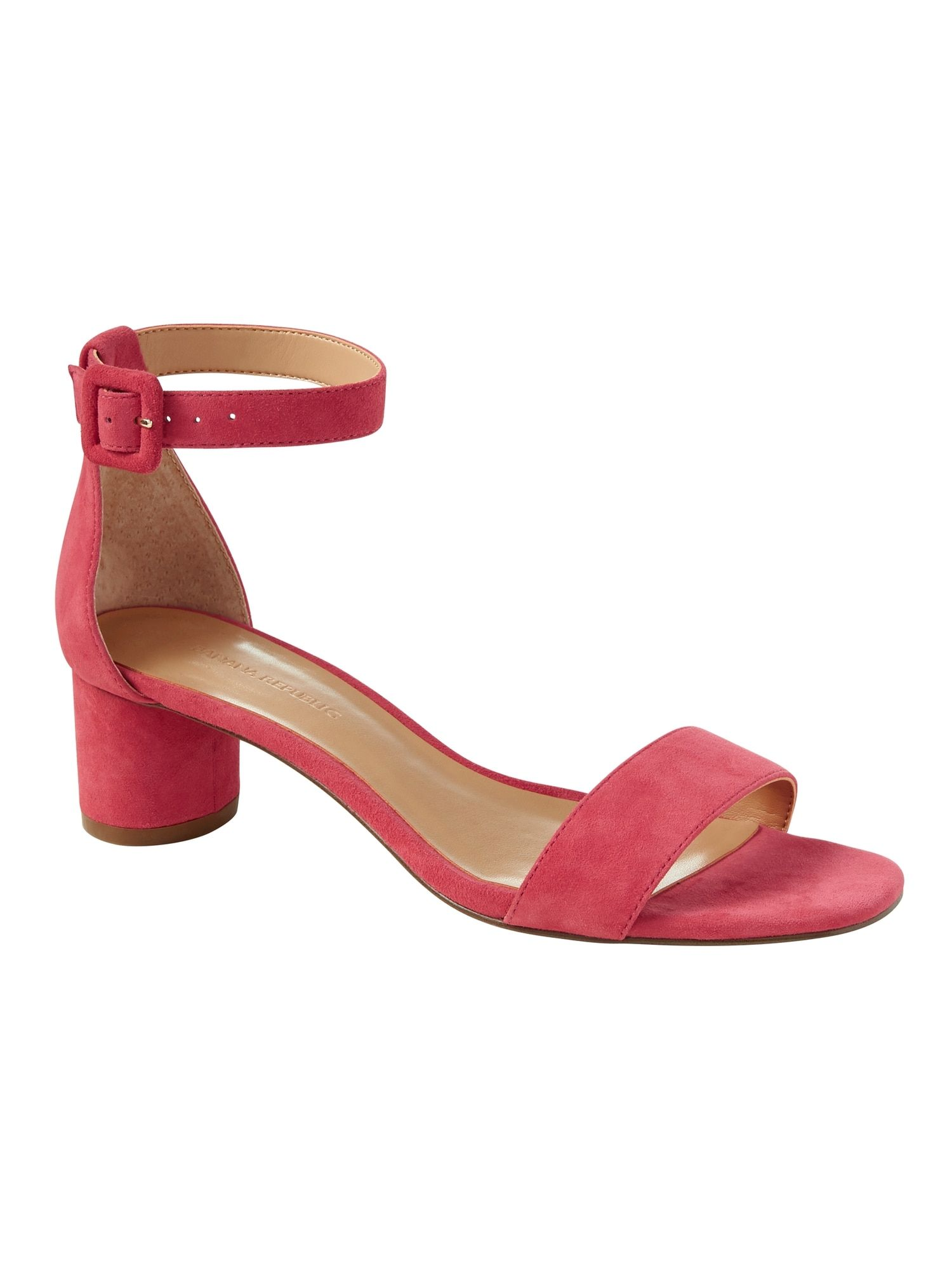 3ec118c2180 Banana Republic. Banana Republic Low Block Heel Sandal ...