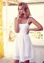 Resultado de imagem para vogue white dresses