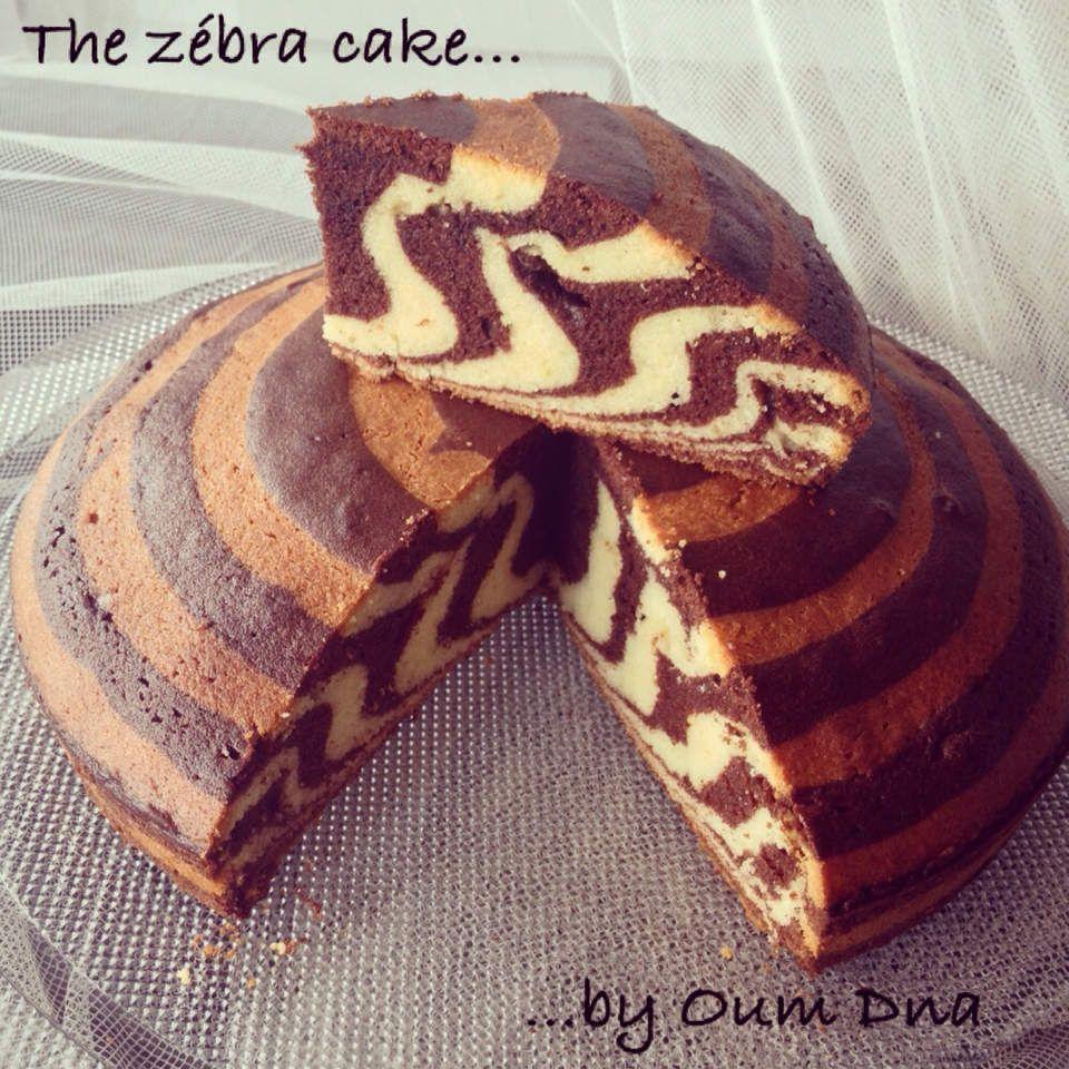 The Zebra Cake Cake Sucré