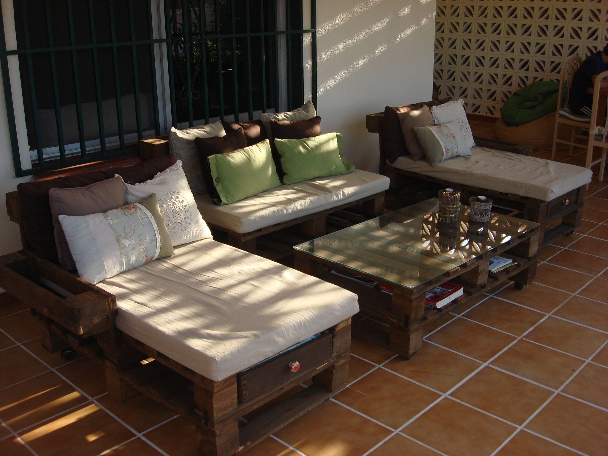 Muebles Chill Out Baratos Zona Chill Out Hecha Con Palets Reciclados Hoy Queremos