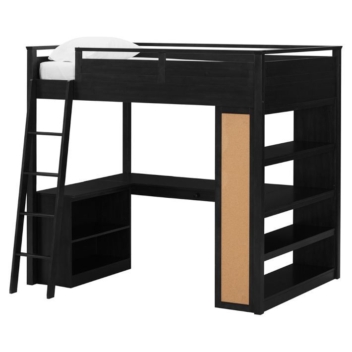 $699.00... Costco's Pottery Barn look alike Loft Bed, in brown and ...