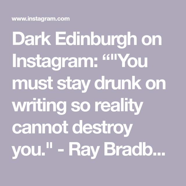 """Dark Edinburgh on Instagram: """""""