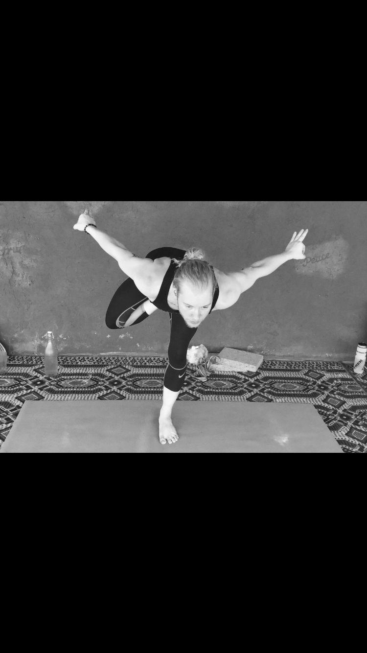 Yoga Phoenix pose