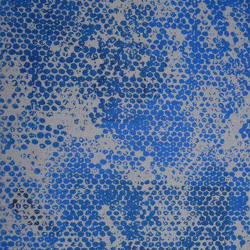 Bubble wrap + paint + fabric or canvas