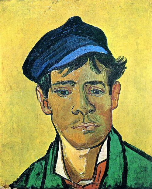 Vincent van Gogh, Junger Mann mit Mütze 1e (Armand Roulin) [1888] - Zürich Collection Dr, Fritz Nathan