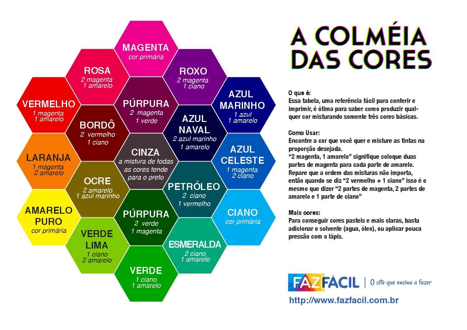 Colmeia das cores by Carolina Rodrigues Rentes - issuu 91c17e79b234a