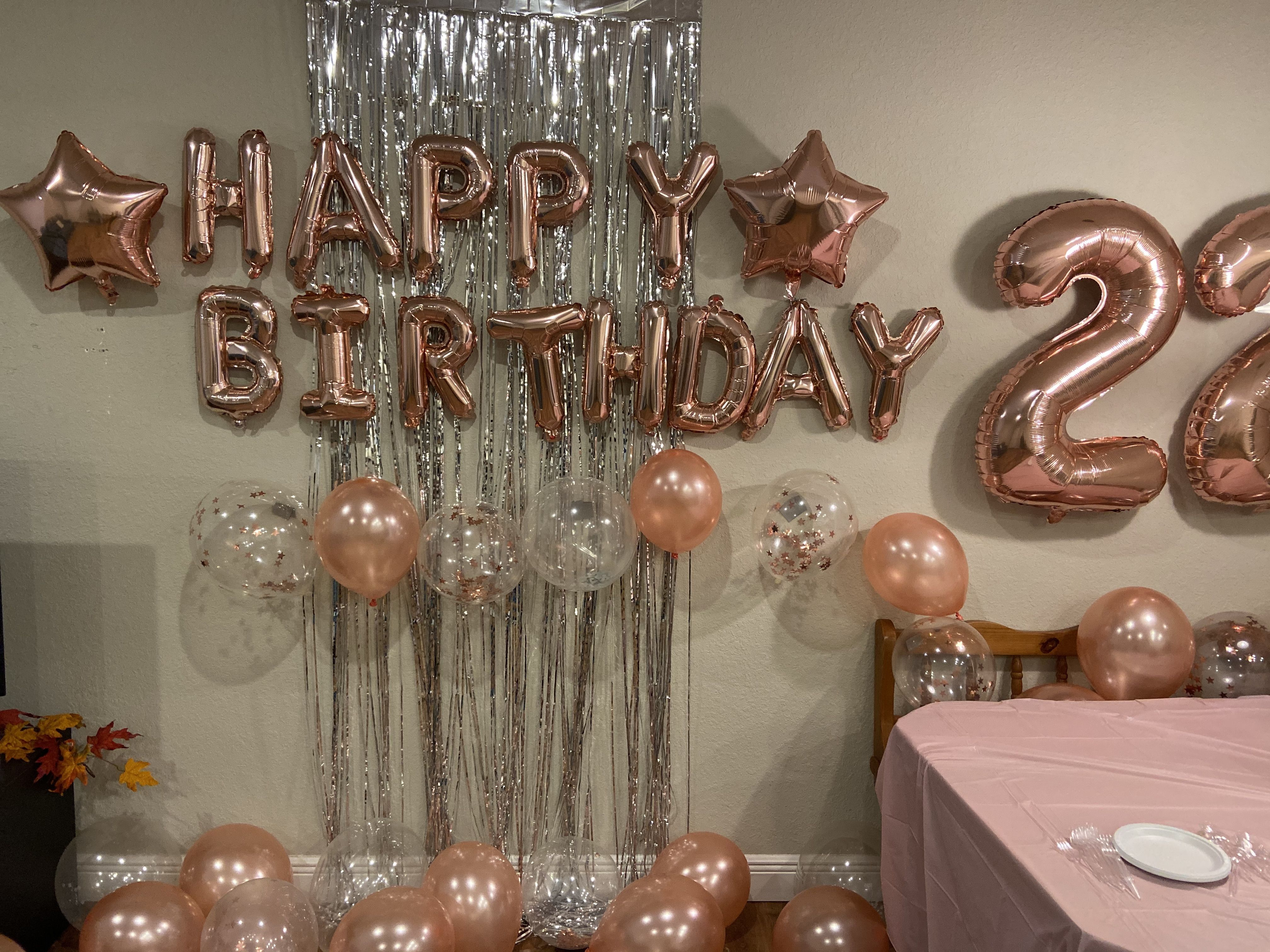 22nd Birthday Decor 22nd Birthday My 22 Birthday 22 Birthday Ideas