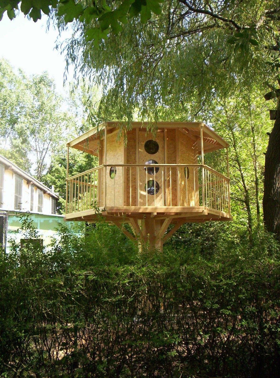 baumhaus einfach selbst bauen der bauplan hier bauanleitung kinder haus ebay baumhaus. Black Bedroom Furniture Sets. Home Design Ideas