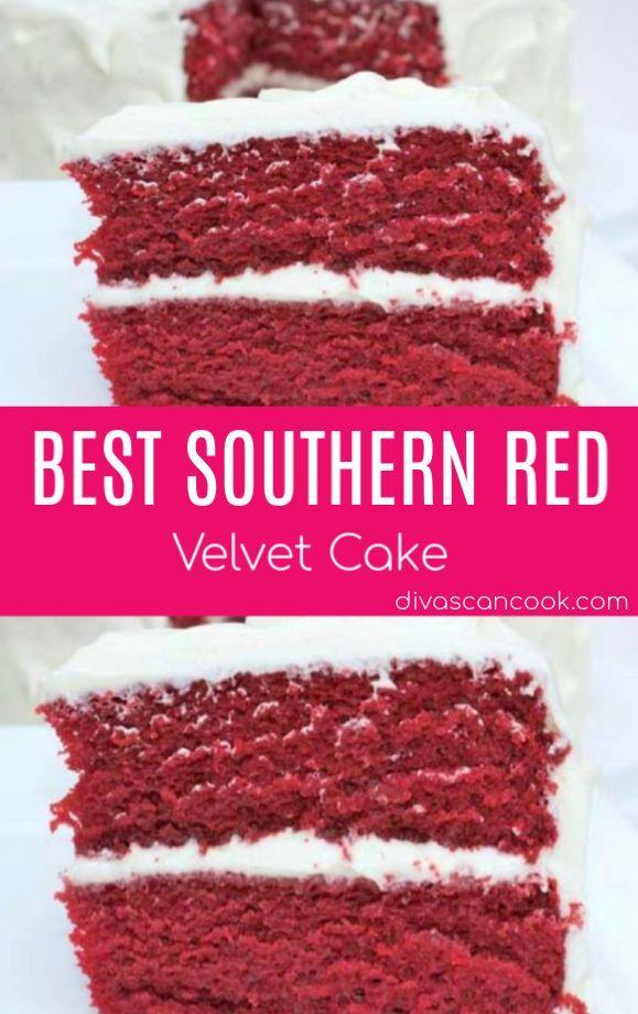 Best Southern Red Velvet Cake Recipe Velvet Cake Recipes Red Velvet Cake Recipe Red Velvet Cake Recipe Easy