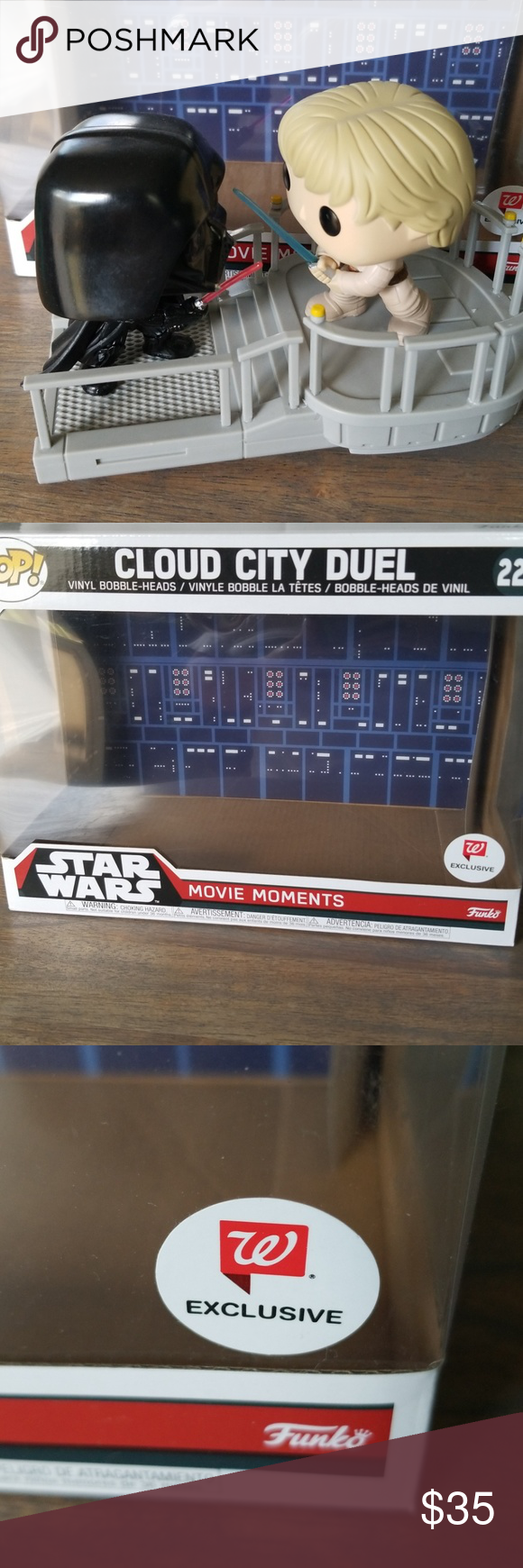 Star Wars Cloud City Duel Funko Pop Exclusive Funko Pop Exclusives Star Wars Funko Pop