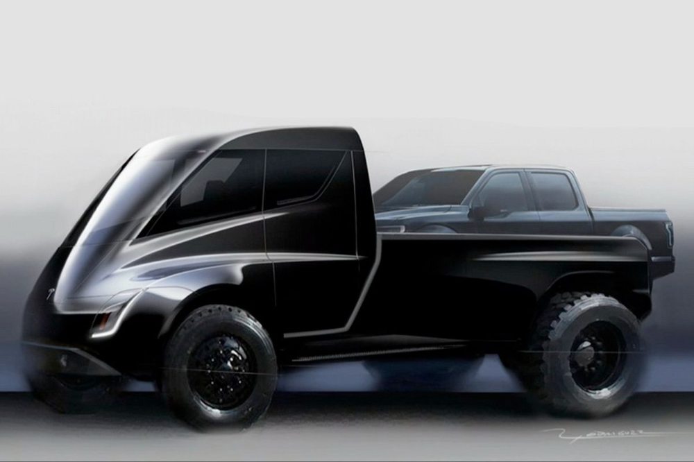 Tesla Cybertruck To Grace Mortal Eyes On November 21 Tesla Pickup Tesla Pickup Truck Tesla