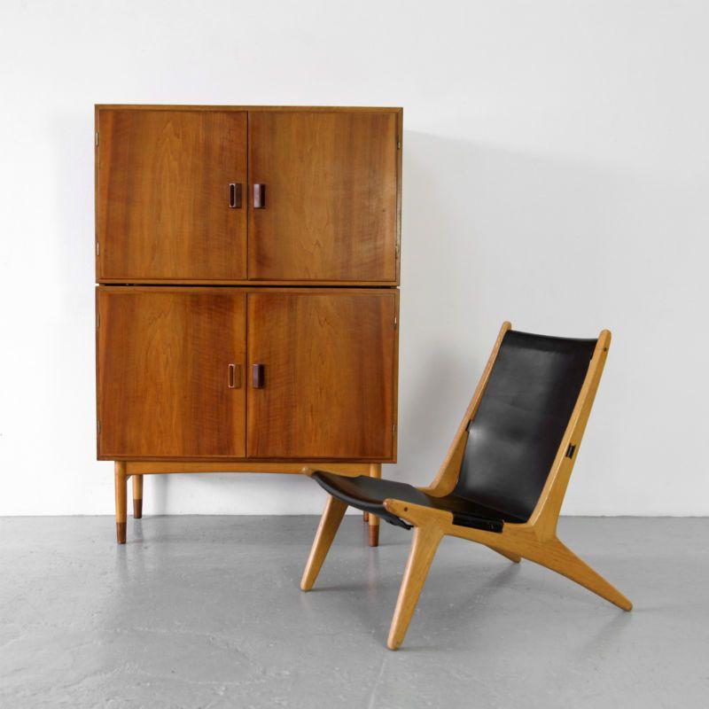 Cabinet By Brge Mogensen For Sborg Denmark 60s