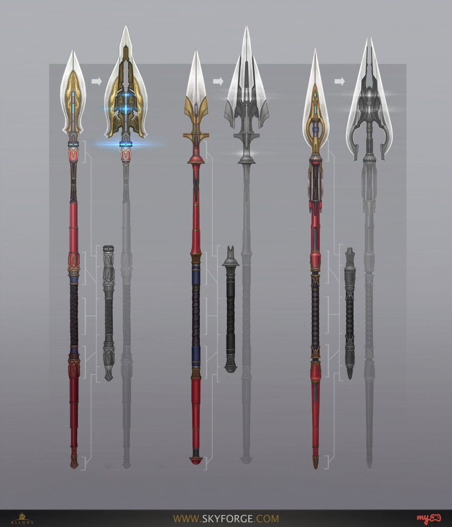 Polearm-Armory-Concept