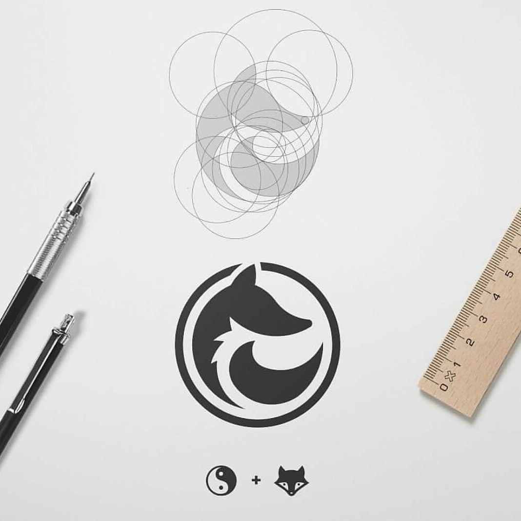 Creative Logo Design For Brands In 2020 Geometric Logo Design Fox Logo Design Logo Design Creative