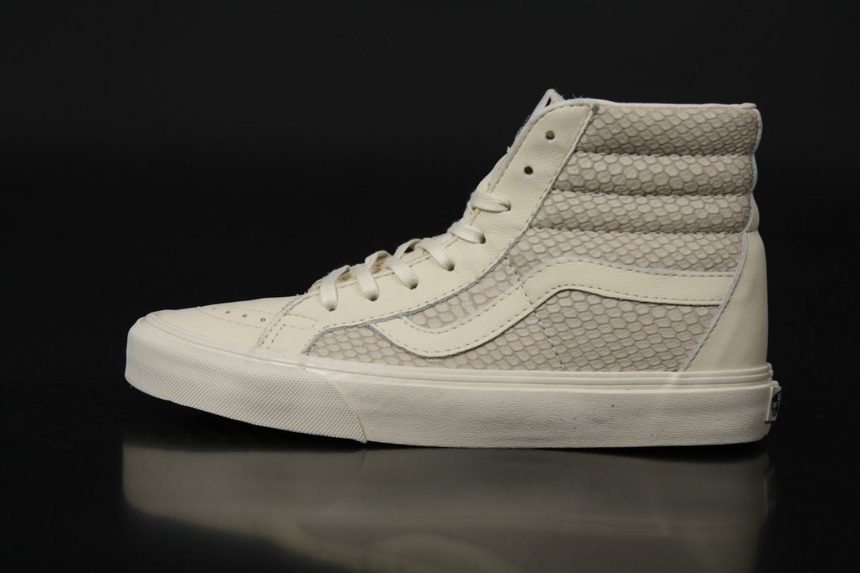 Vans Premium Leather SK8 Hi Reissue Zip
