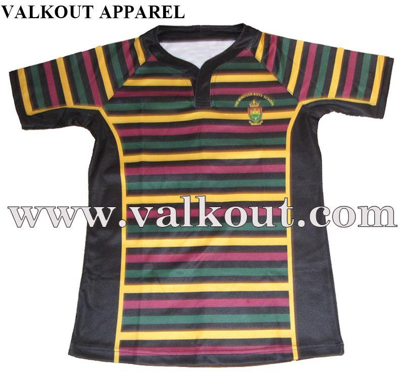 Custom Rugby Uniform Suppliers Printed Rugby Jerseys Youth Rugby Uniforms Valkout Apparel Co Ltd Custom Sublimated Fish Rugby Uniform Rugby Jersey Shirts
