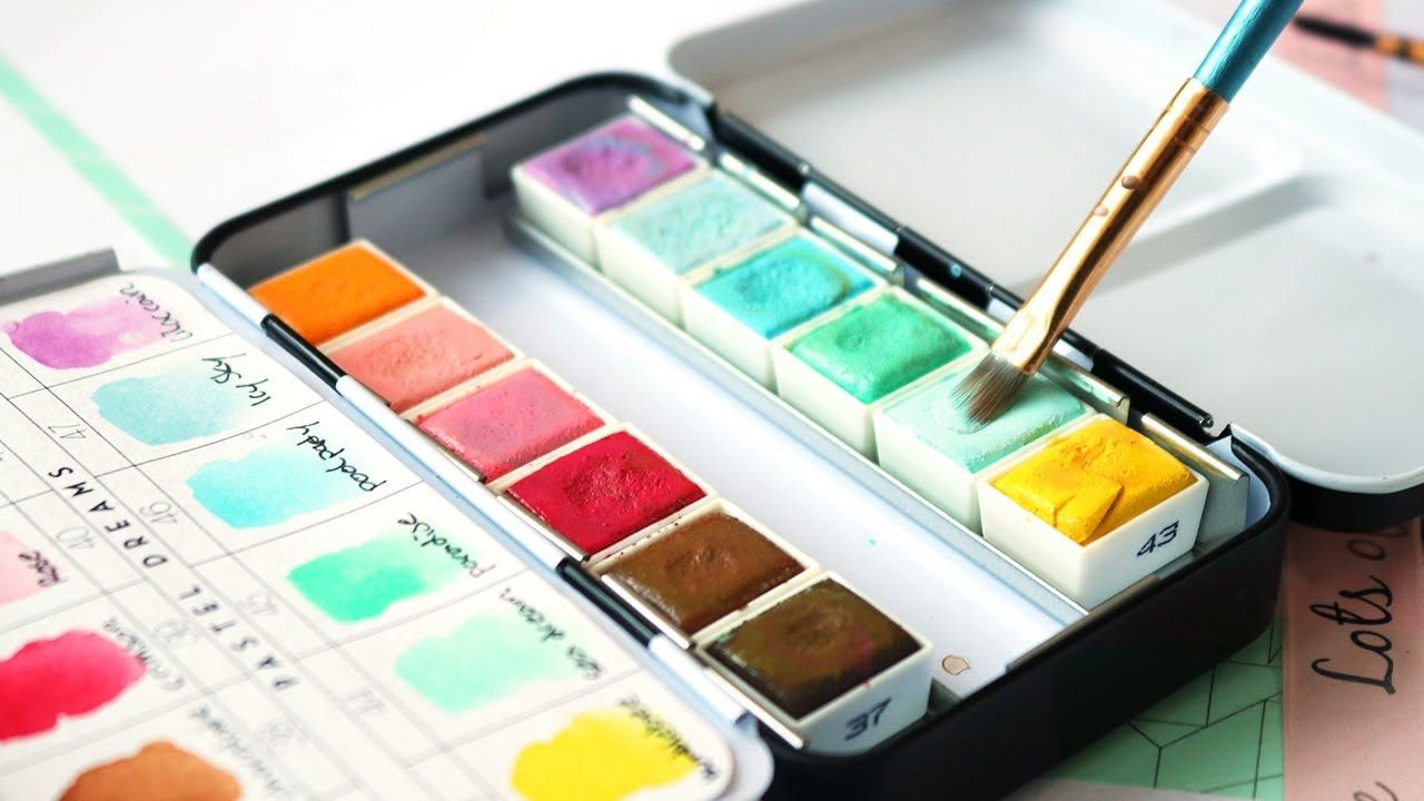 Prima Pastel Dreams Watercolor Palette Review Aquarelle Sujets