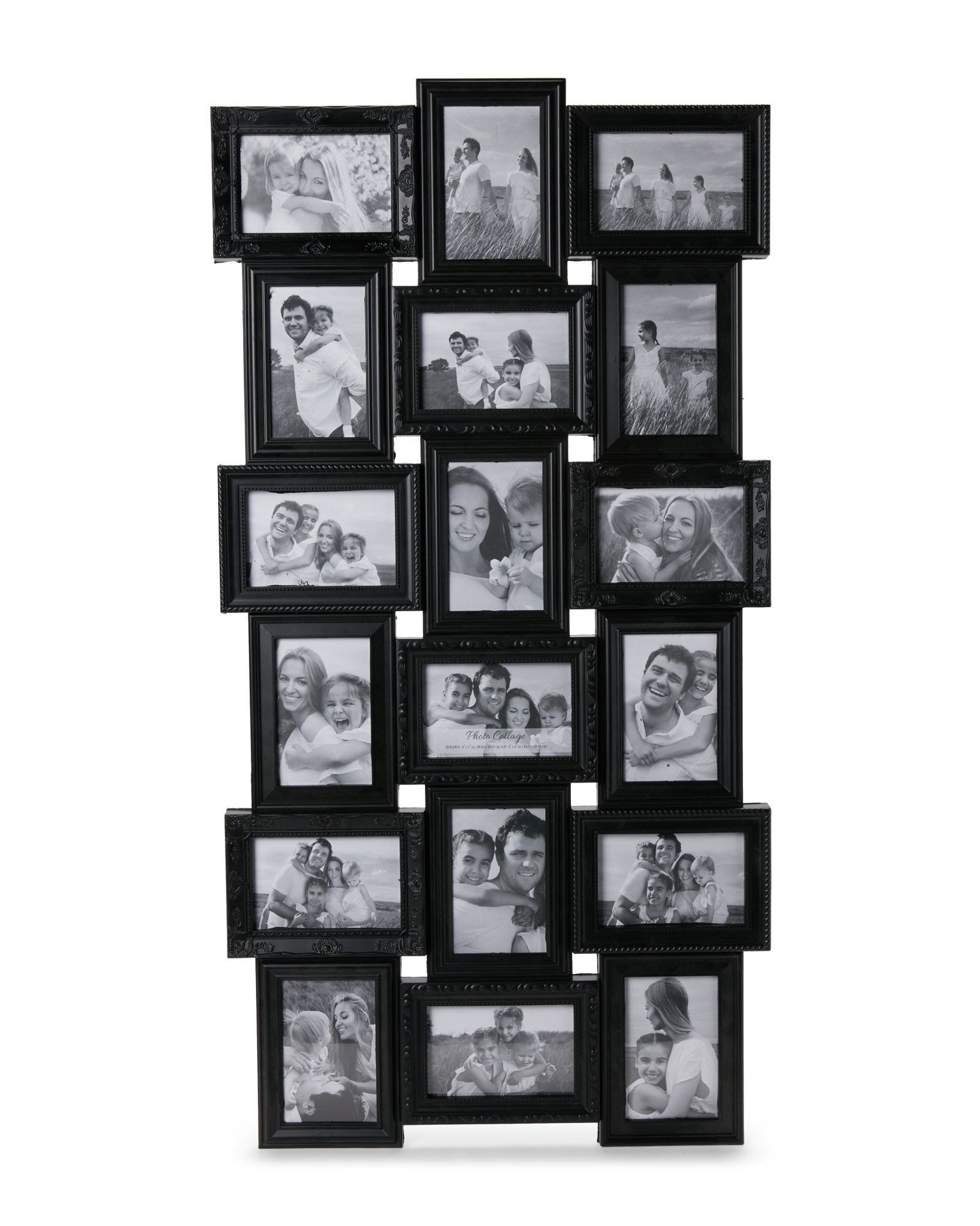 Crystal Art Gallery 4 Quot X 6 Quot Collage Wall Picture Frame Picture Frame Wall Picture Wall Gallery Wall Layout