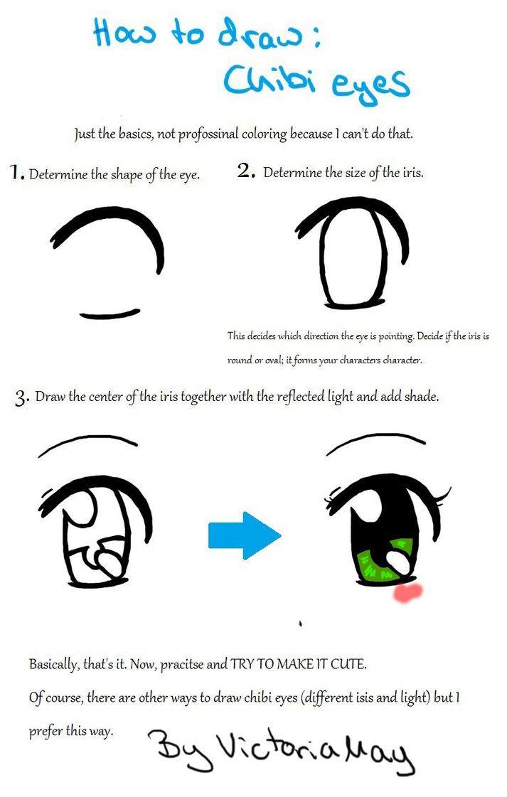 Eyes Chibi : chibi, Draw:, Chibi, Https://www.deviantart.com/victoriamay, @DeviantArt, Eyes,, Cartoon, Drawings