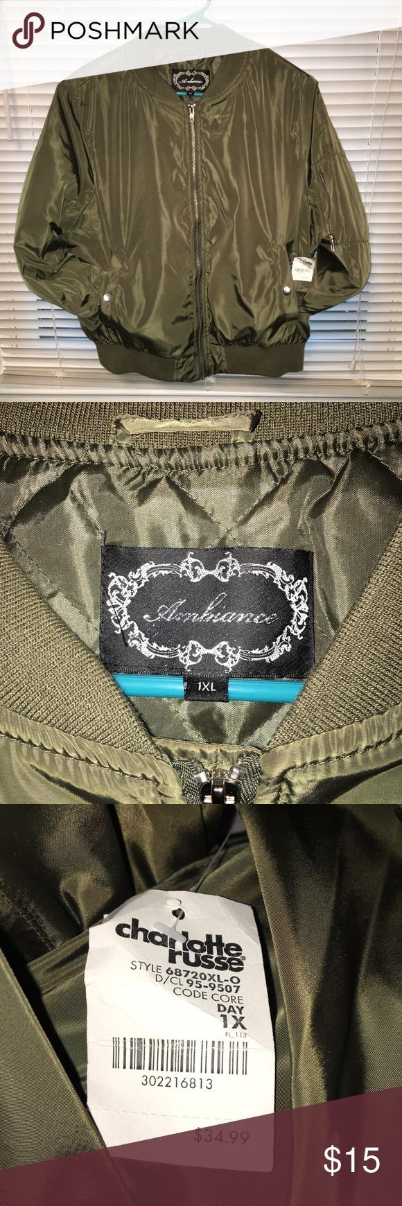 Charlotte Russe Ambiance Bomber Jacket Bomber Jacket Clothes Design Jackets [ 1740 x 580 Pixel ]