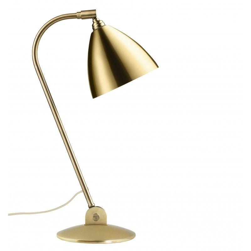 Bestlite BL2 bordlampe i messing designet af Robert Dudley Best