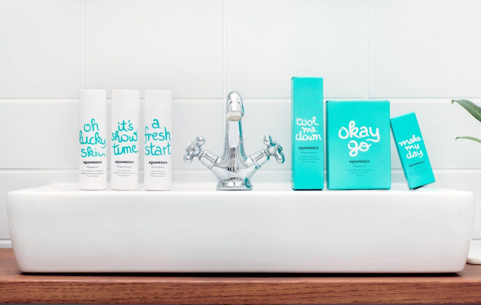 This Packaging for Aquatadeus is So Fresh and So Clean — The Dieline - Branding & Packaging Design