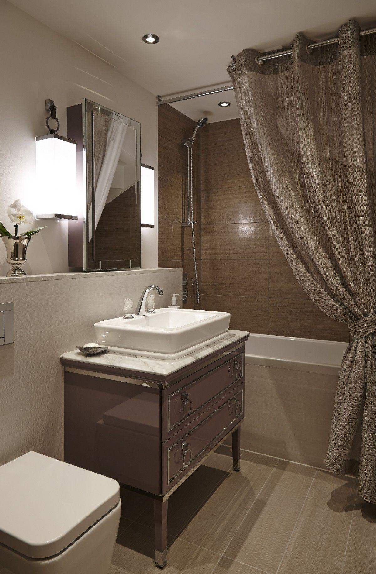 Luxurious urban oasis in london designed for entertaining bathroom
