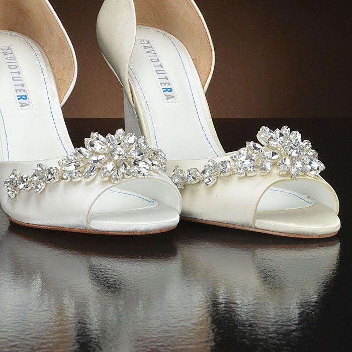 winter by david tutera wedding shoes at my glass slipper