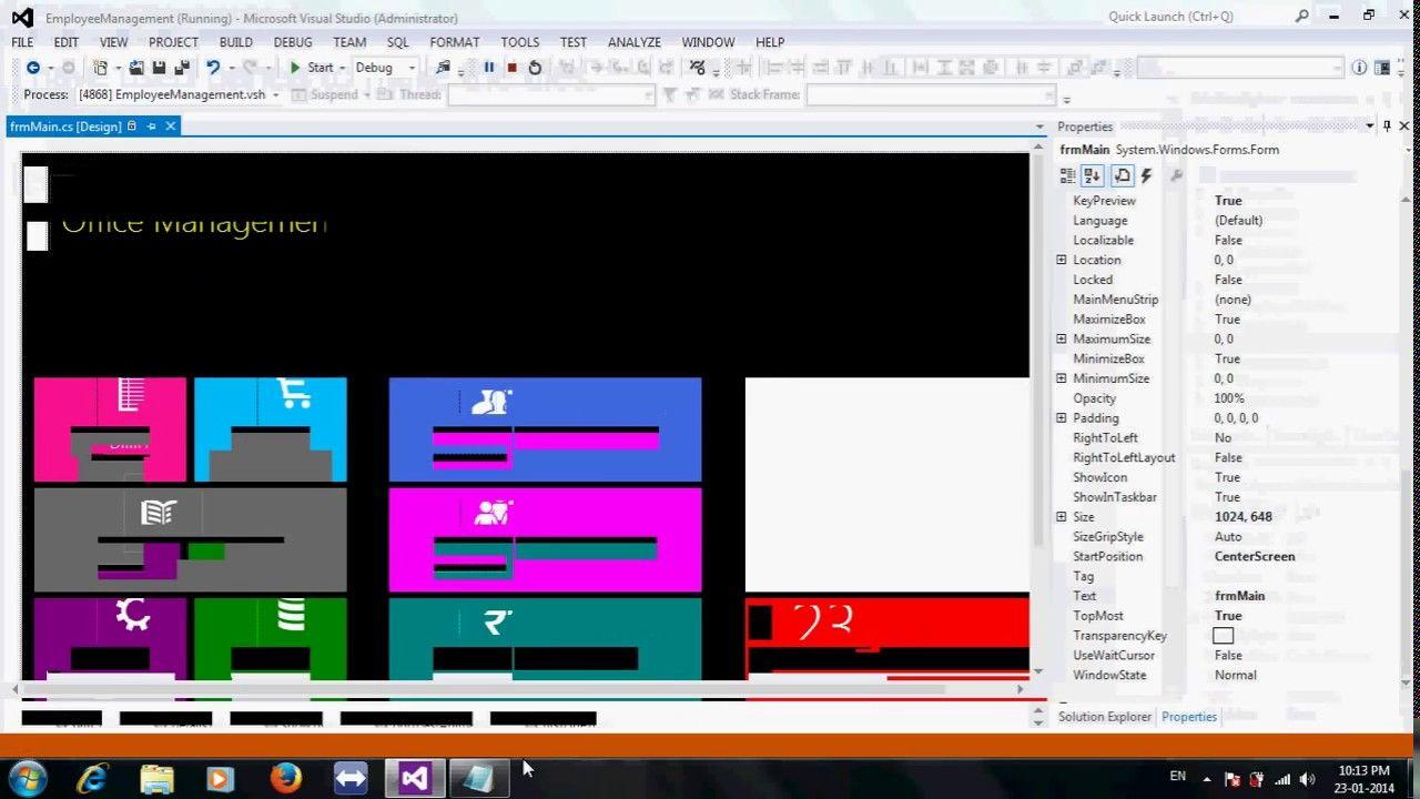 metro or modern ui style windows application in c