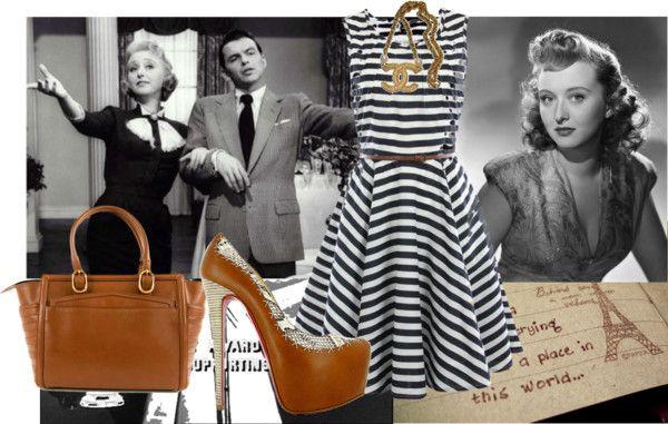 """celeste holm"" by samar-fashion ❤ liked on Polyvore"