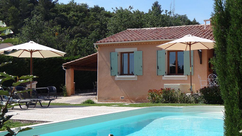 Villa 3 chambres 6 8 personnes avec piscine chauff e - Chambre d hote piscine chauffee ...
