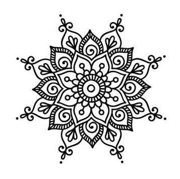 Flower Mandala Coloring Pages 01 Coloring Mandalas Coloring Jurnalistikonline Com In 2020 Easy Mandala Drawing Henna Drawings Simple Mandala