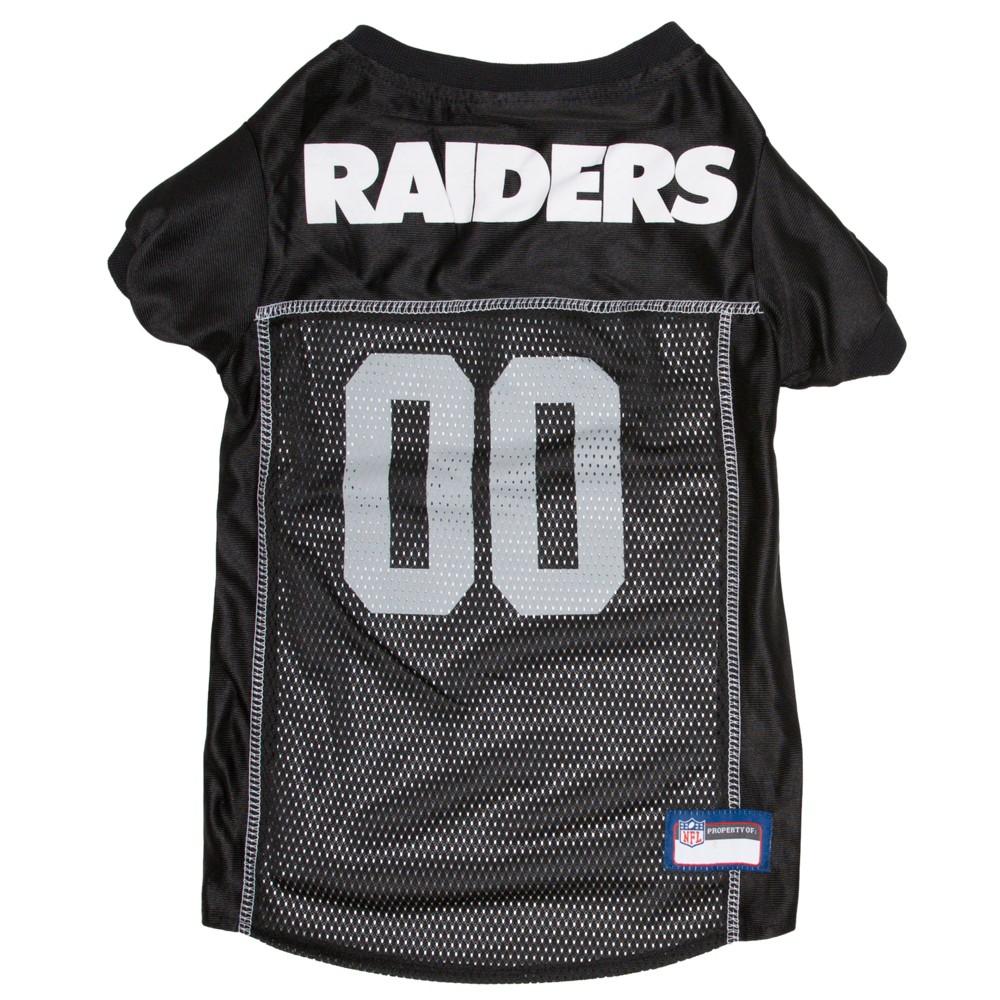 Oakland Raiders Pets First Mesh Pet Football Jersey