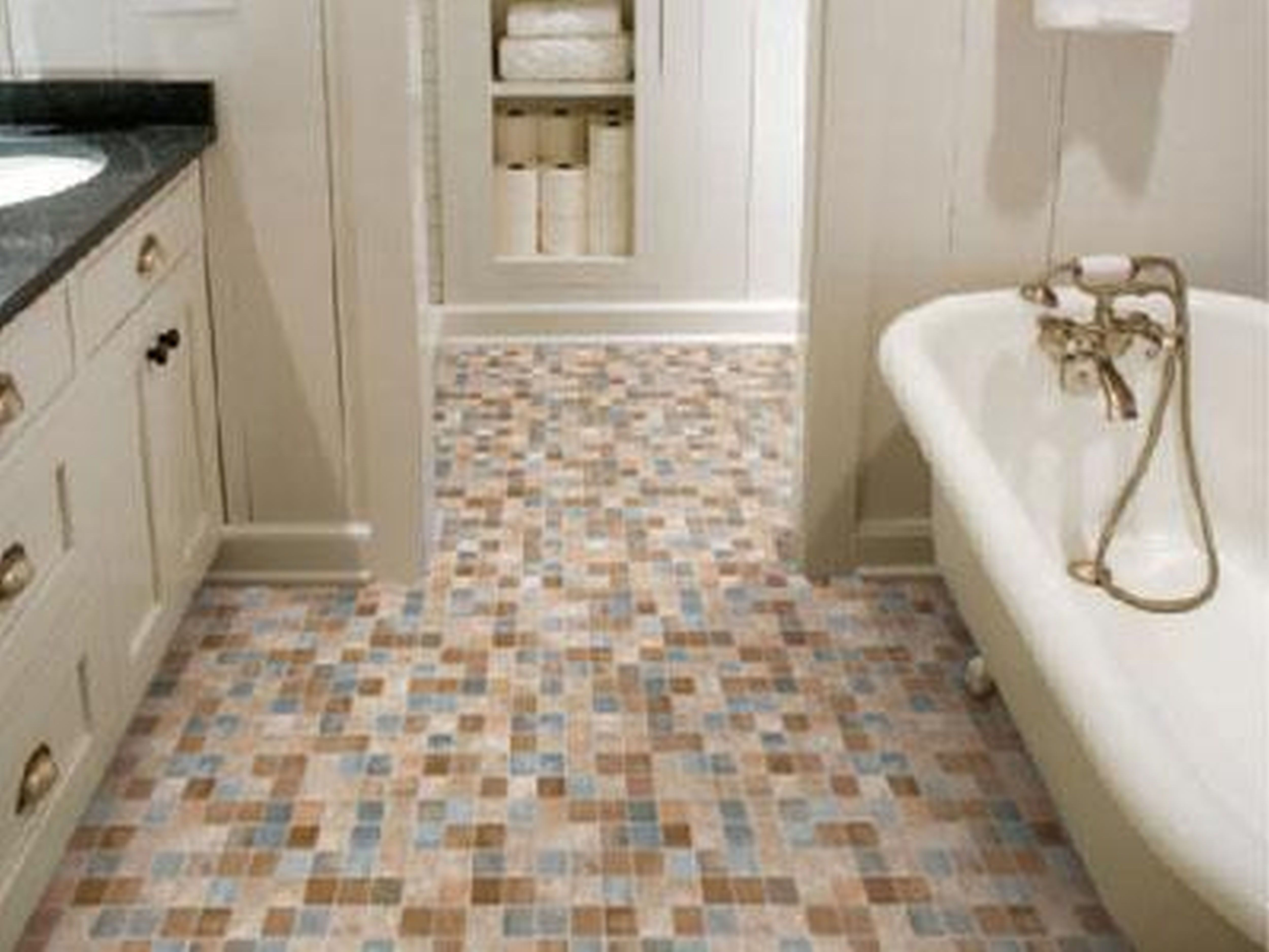 10 Incredible Bathroom Tile Floor Ideas For Small Bathrooms Get Ideas Bathroom Flooring Bathroom Floor Tiles Tile Floor