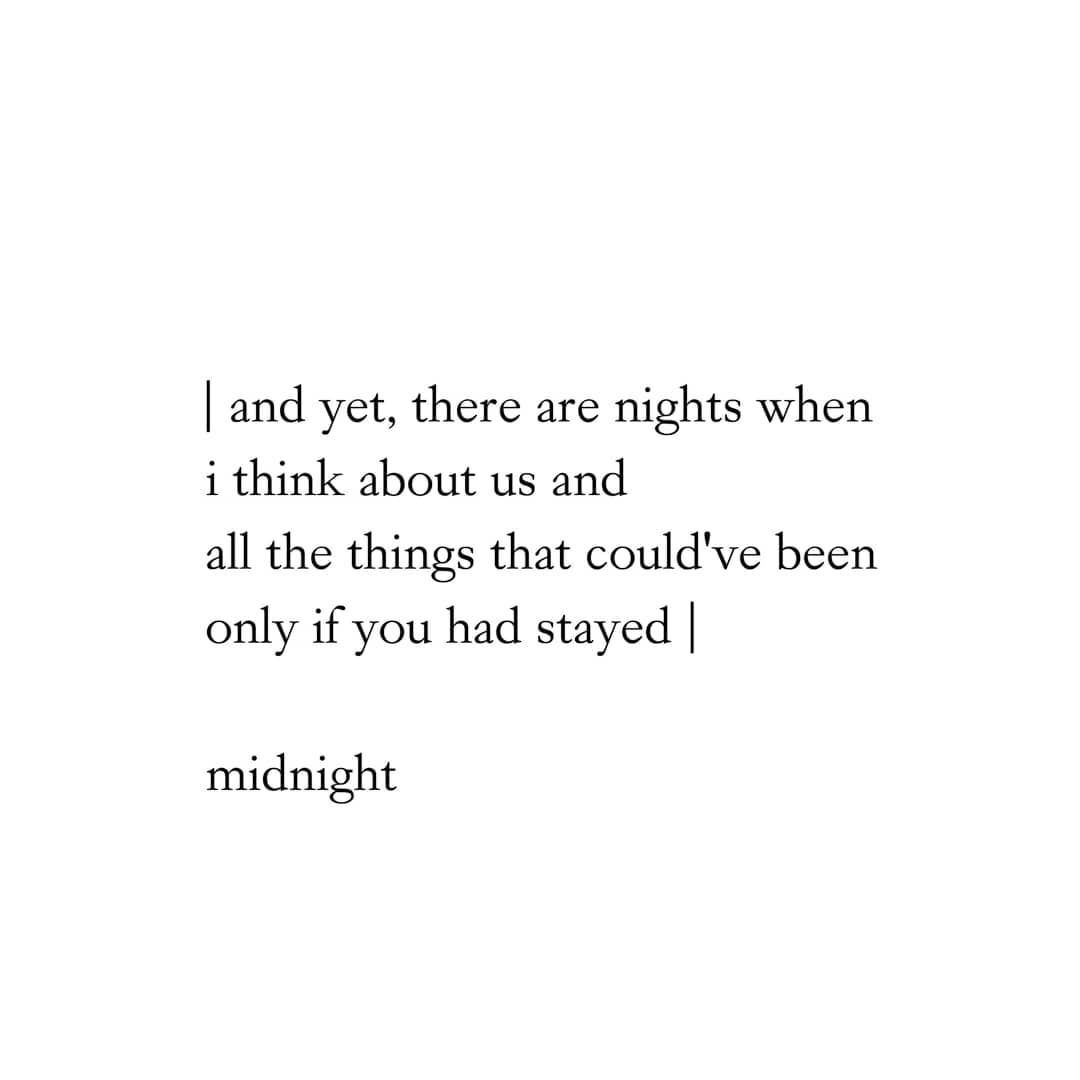 Midnight On Instagram There Are Days When I Feel I Need You