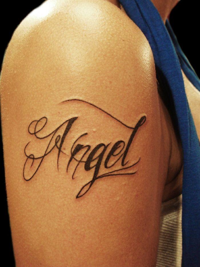 Tatuajes En Letra Cursiva Para Hombres