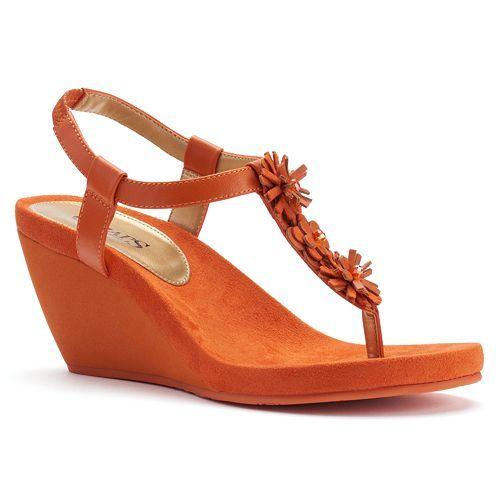 98faeca26 Chaps Rabekkah Women s Wedge Sandals. 2 colors. SALE  29.99