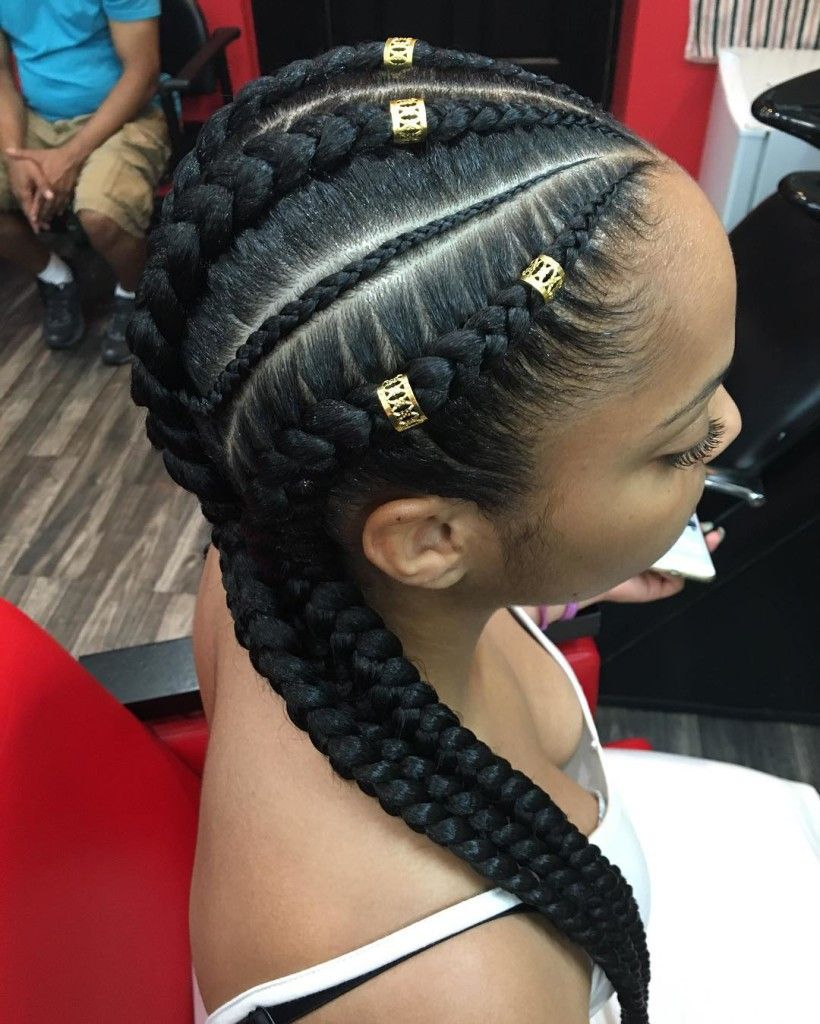 Beautiful Boxer Braids and Pigtails Styles to Try Now ...