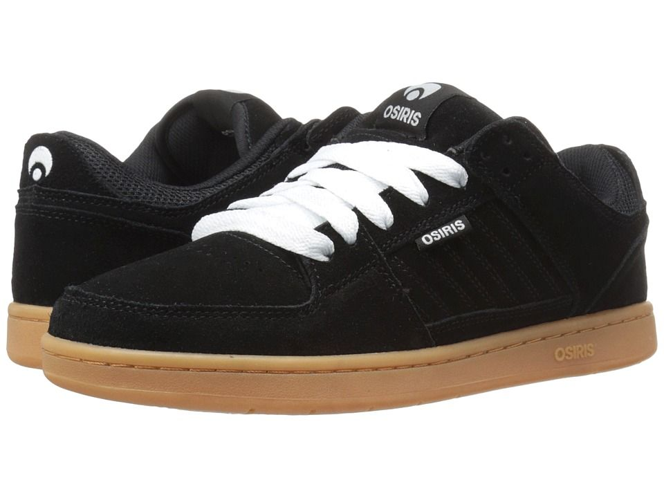 Osiris Protocol SLK Men's Skate Shoes Black/Gum