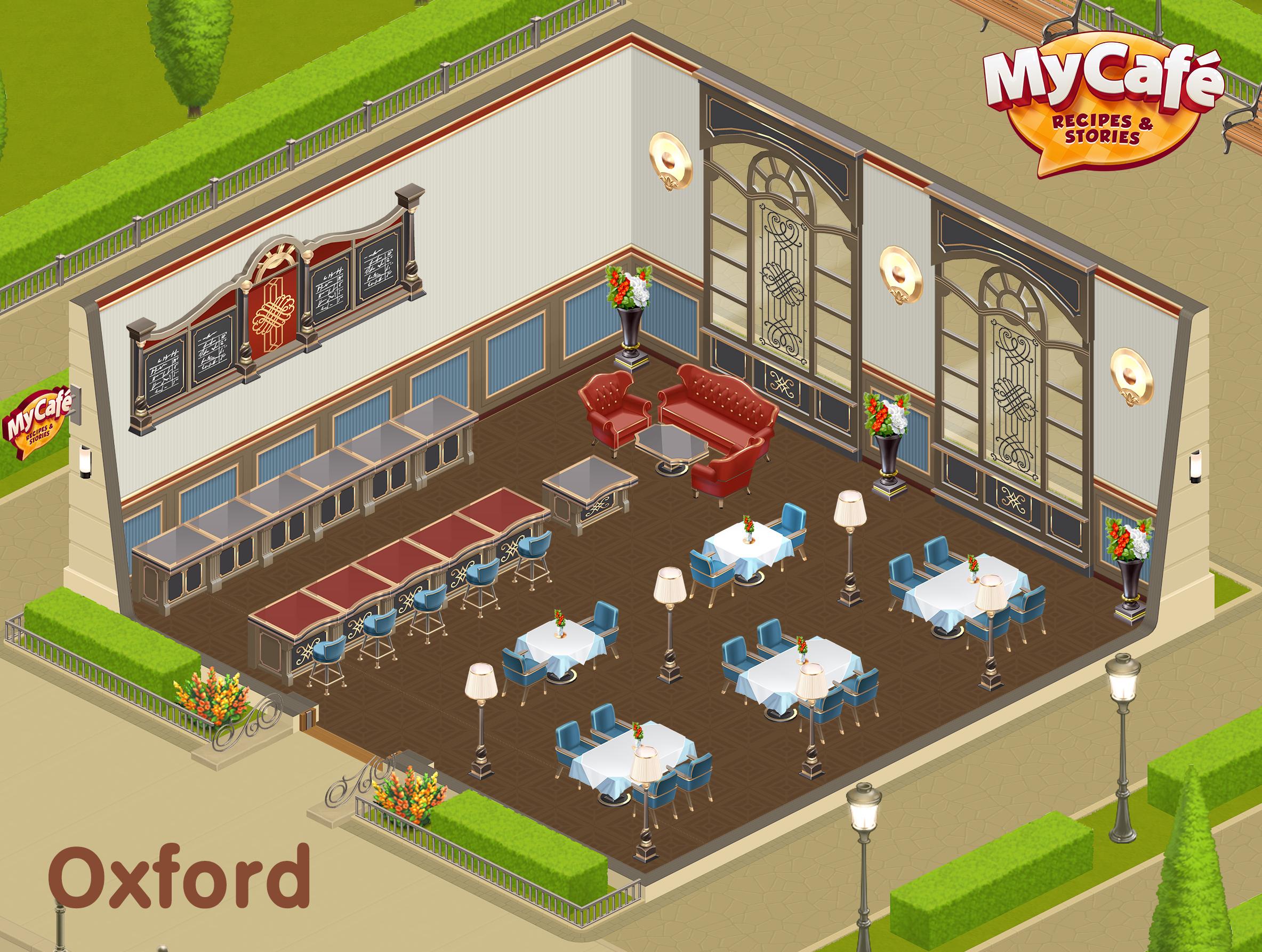 Oxford English Style My Cafe Game Mycafe Mycafegame Cafe Decor Cafe Design Cafe