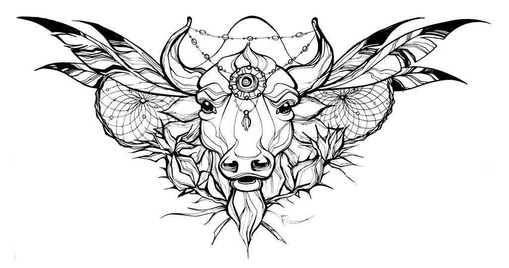 Photo of croquis de tatouage par Jeanne-Saar sur DeviantArt
