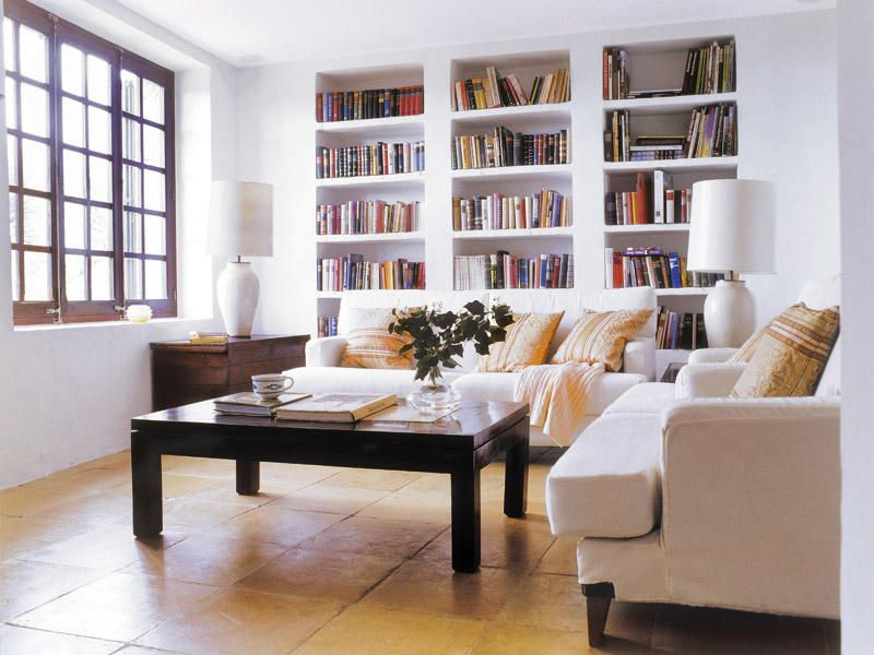 C mo ordenar y decorar las librer as home design - Librerias para despacho decoracion ...