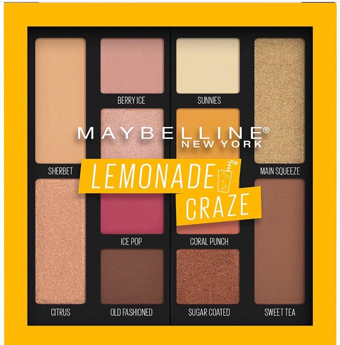 Maybelline Lemonade Craze Palette Sombra maybelline